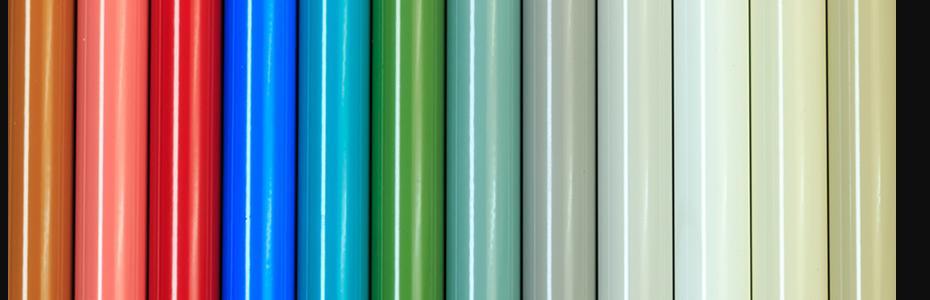 Vzornínky barev k dispozici